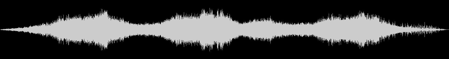 蓄音機から流れてるようなホラー楽曲の未再生の波形