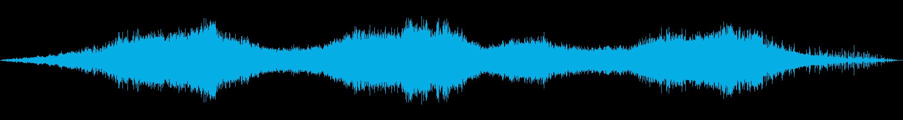 蓄音機から流れてるようなホラー楽曲の再生済みの波形