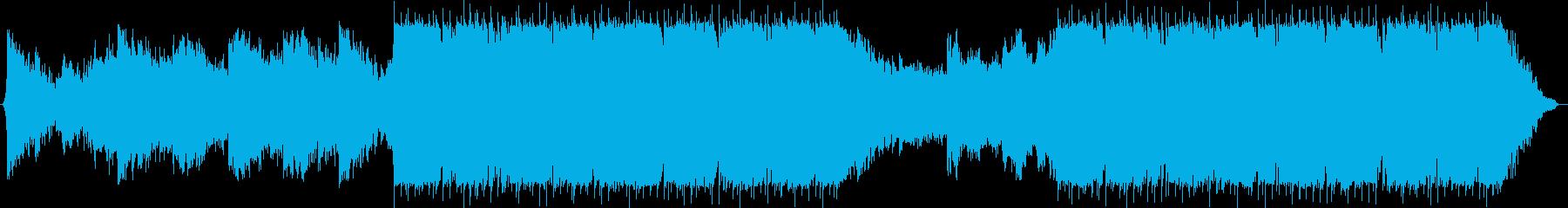 モダン テクノ 現代的 交響曲 室...の再生済みの波形