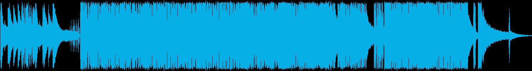 おしゃれで浮遊館のあるトリオジャズの再生済みの波形