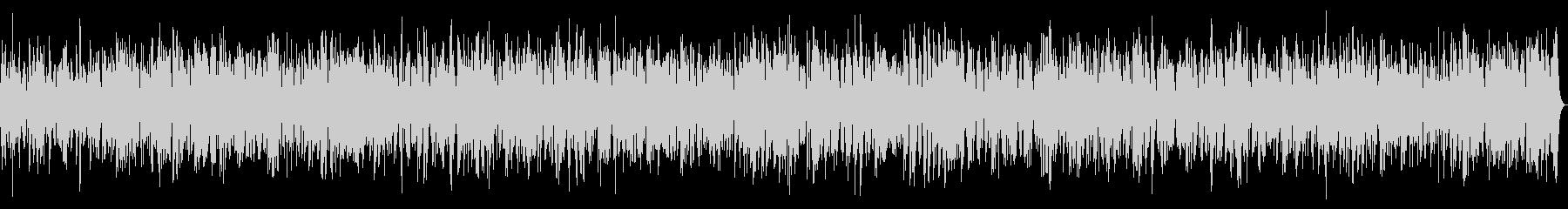 透明感のあるヒーリングビブラフォンBGMの未再生の波形