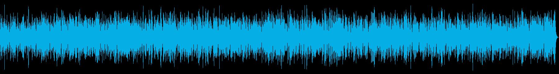 透明感のあるヒーリングビブラフォンBGMの再生済みの波形