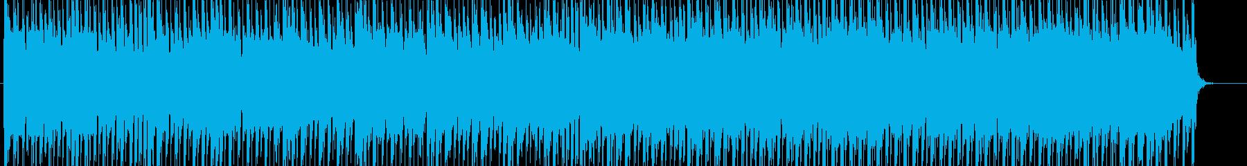 シューティング・パズル向けのテクノポップの再生済みの波形