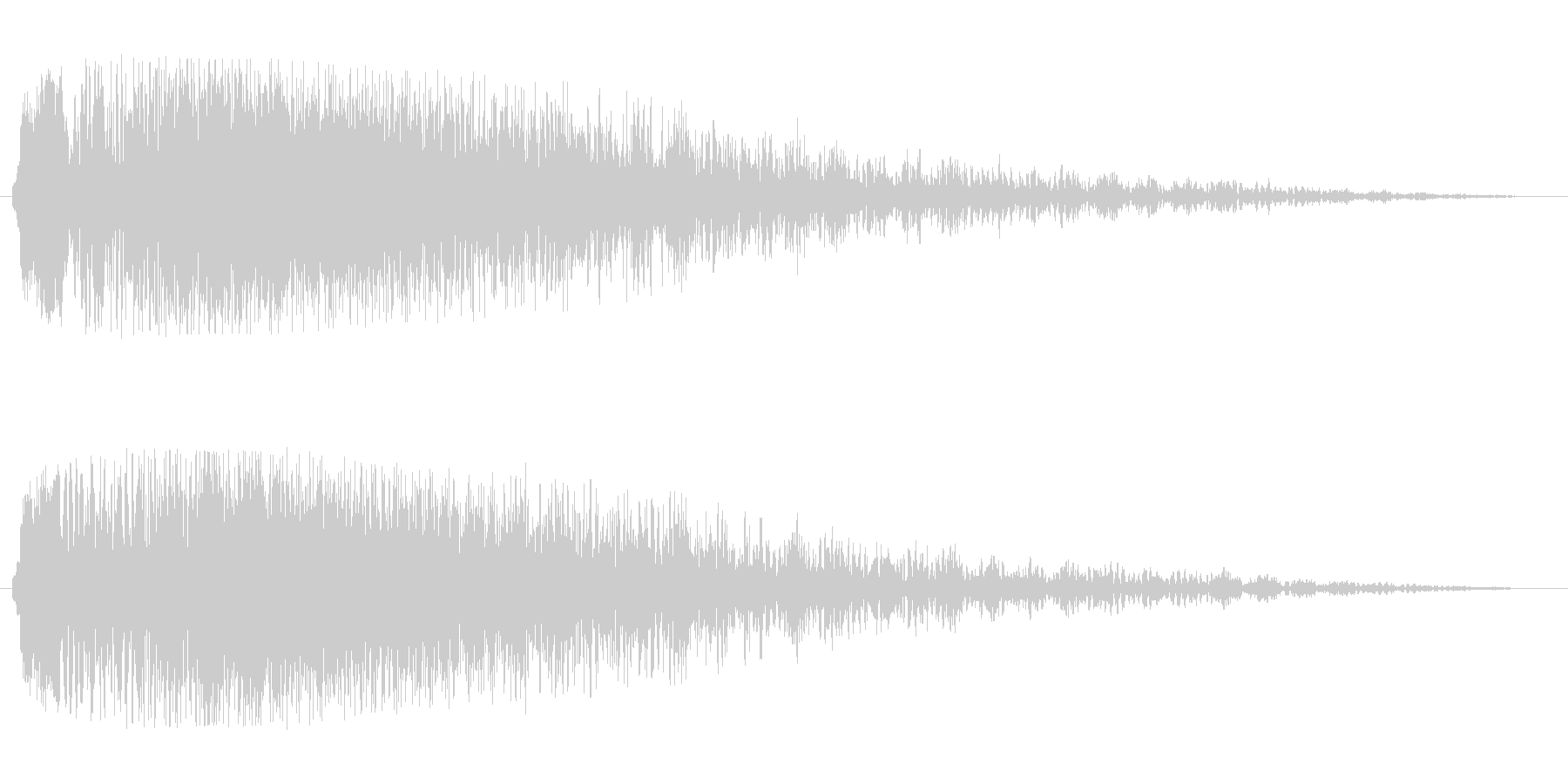シャラーン(優しく綺麗なタイトル音)の未再生の波形