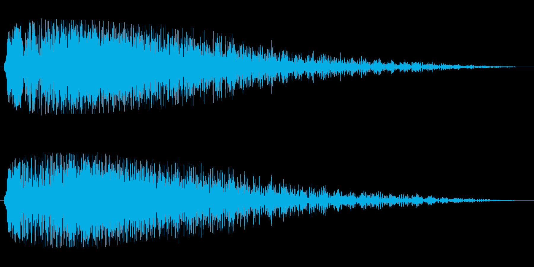 シャラーン(優しく綺麗なタイトル音)の再生済みの波形