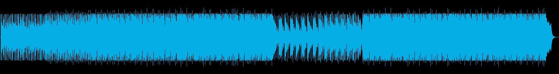 企業VP、映像向け / さわやか系BGMの再生済みの波形