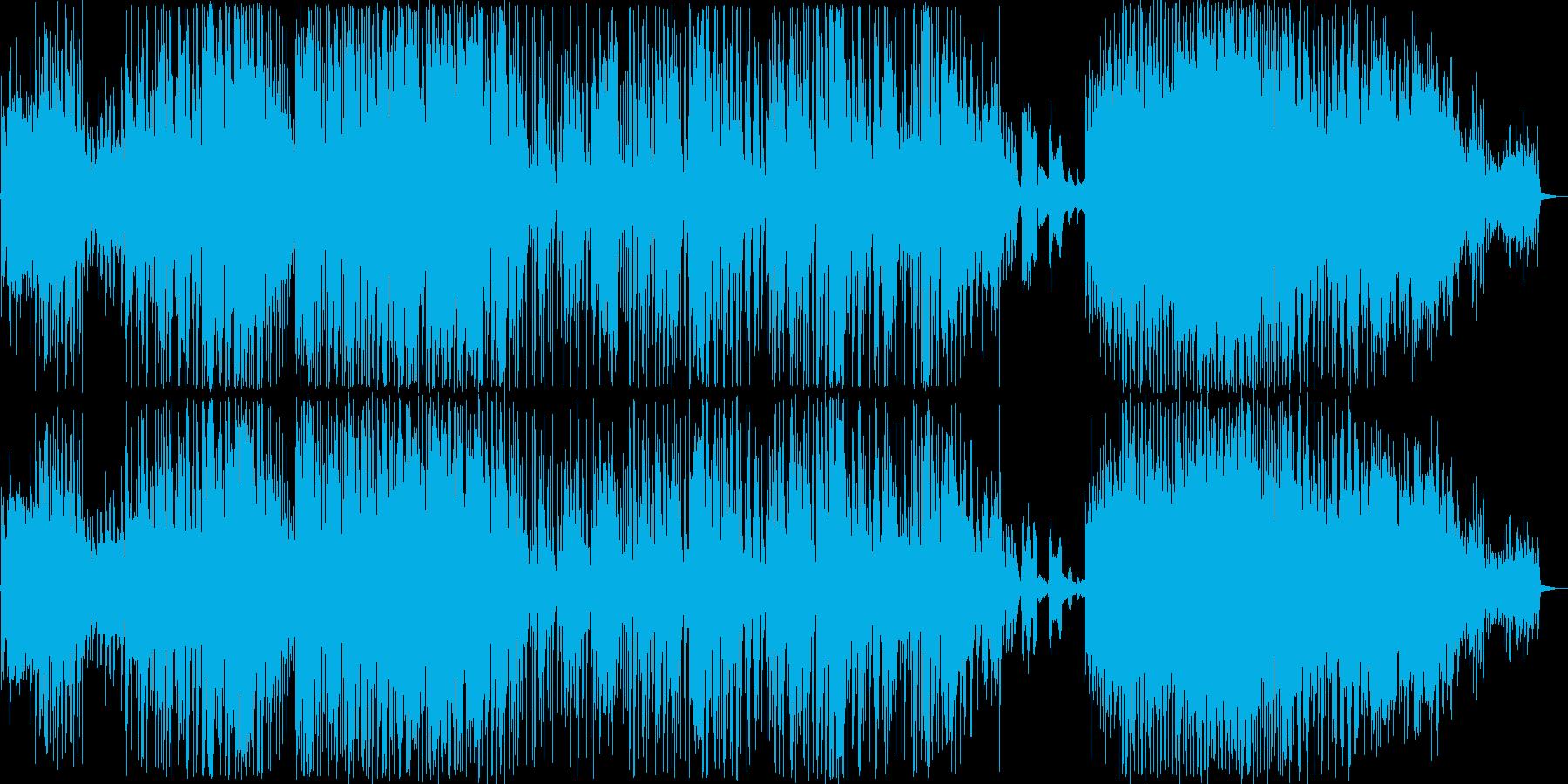 エスニック。即興トリオの世界のため...の再生済みの波形