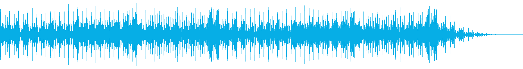 8bitクラシック-カプリース-の再生済みの波形