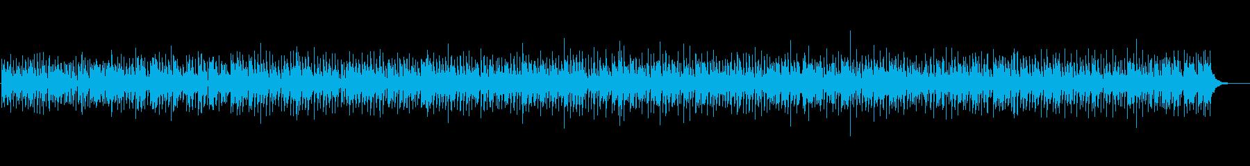 ほんわかアコースティックの再生済みの波形