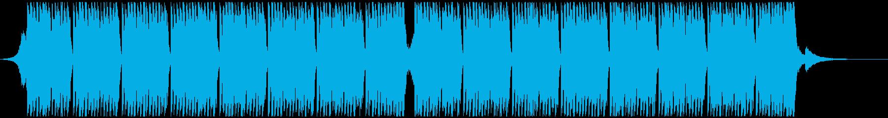 スポーツの動機(42秒)の再生済みの波形