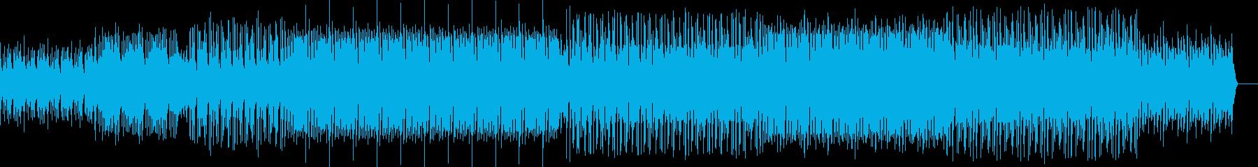 和風 日本を感じるかっこいい激しめの曲の再生済みの波形