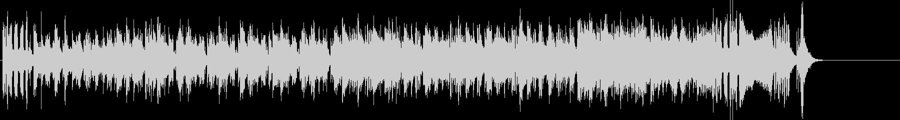 インパクトの強いエレクトリック・ファンクの未再生の波形