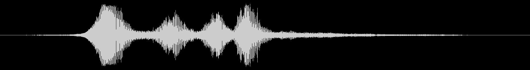 軽量在庫:中速で4つの近接パスの未再生の波形