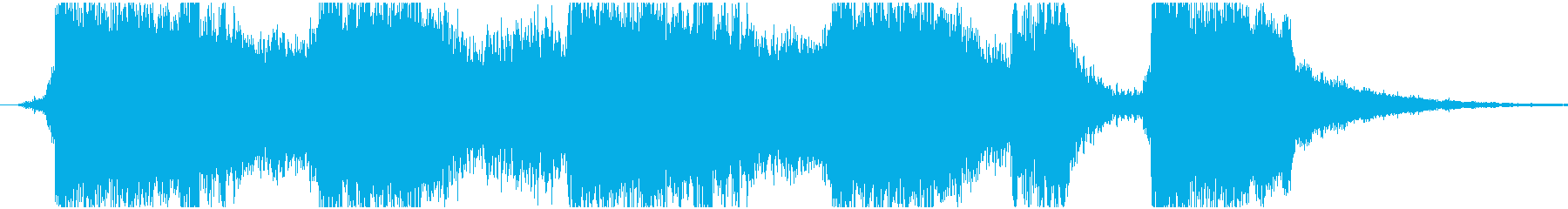 現代的 交響曲 エレクトロ 未来 ...の再生済みの波形