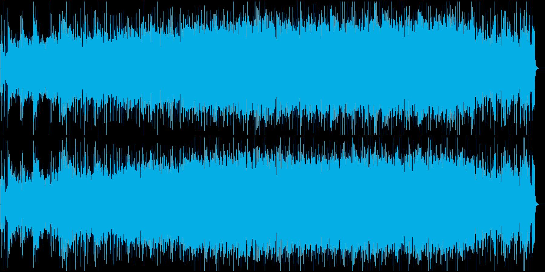 渋いグランジロック・生ギター・ショートの再生済みの波形
