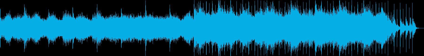 海底散歩の音楽の再生済みの波形
