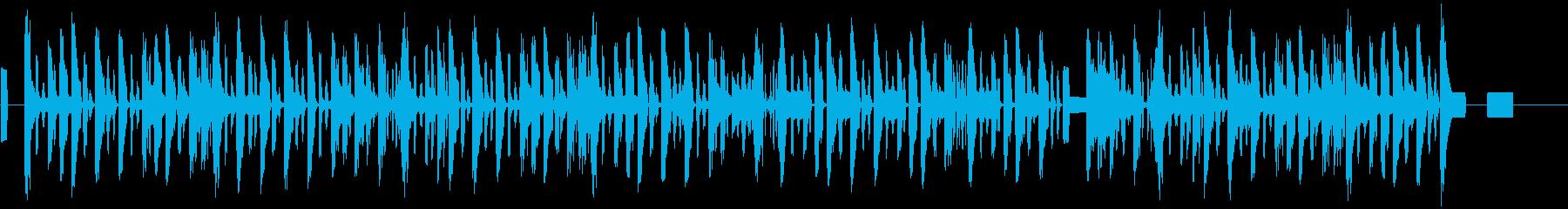 蛍の光(電話機で演奏してみた)の再生済みの波形
