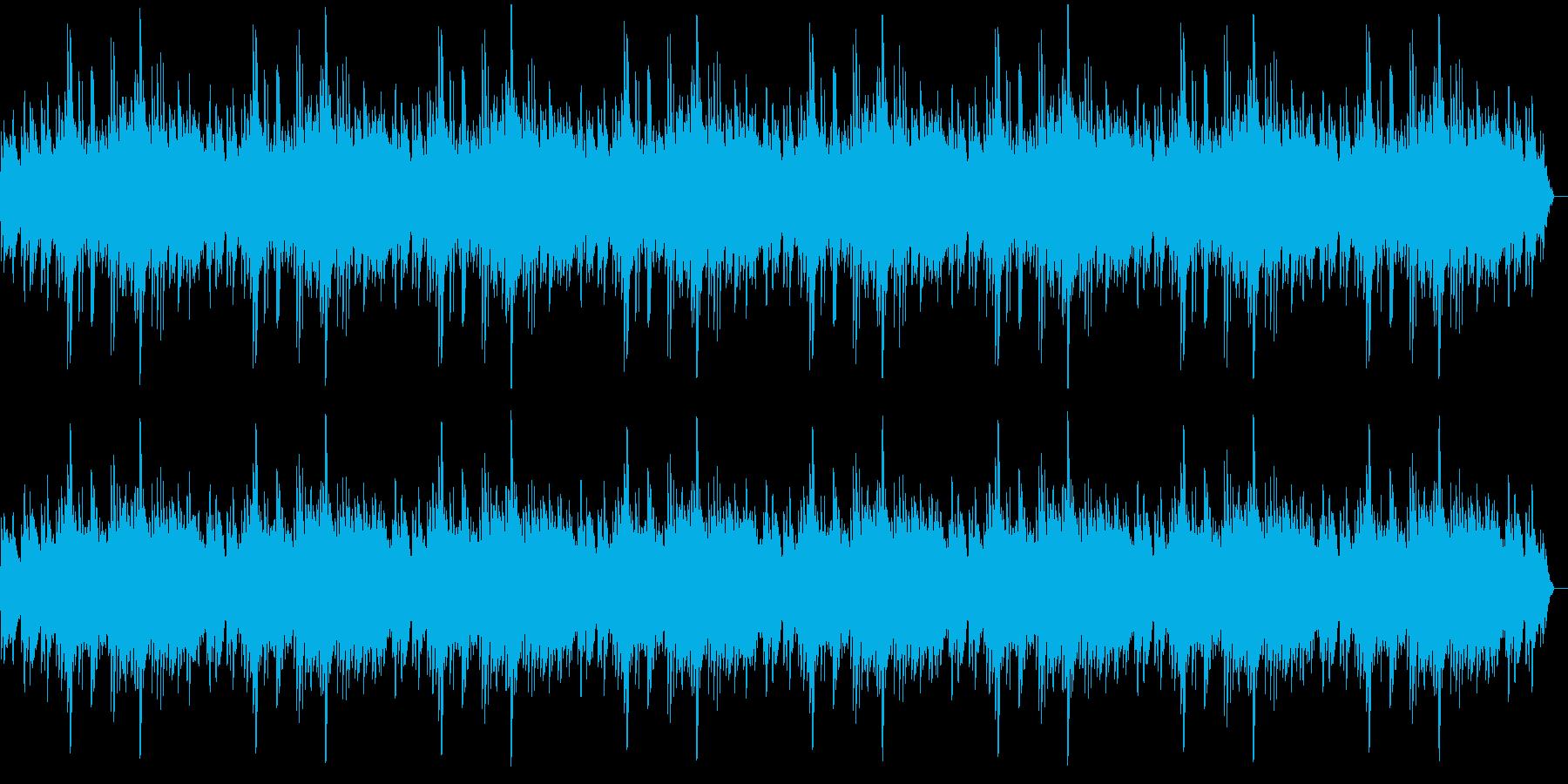 しっとりした落ち着きあるメロディーの再生済みの波形