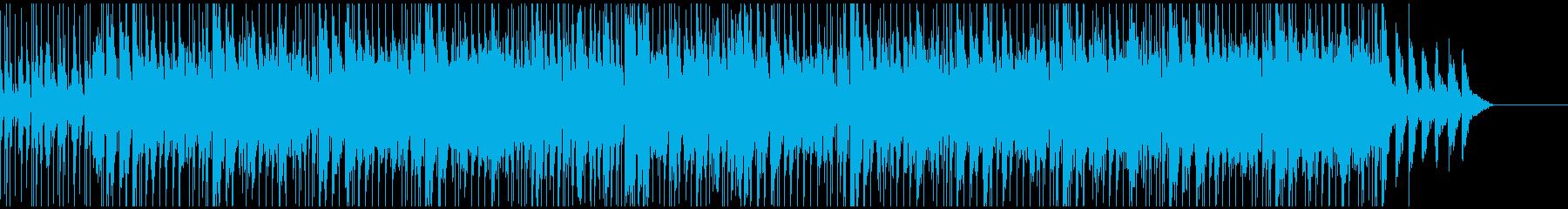 日常空間を彩る癒やしのリフレインの再生済みの波形