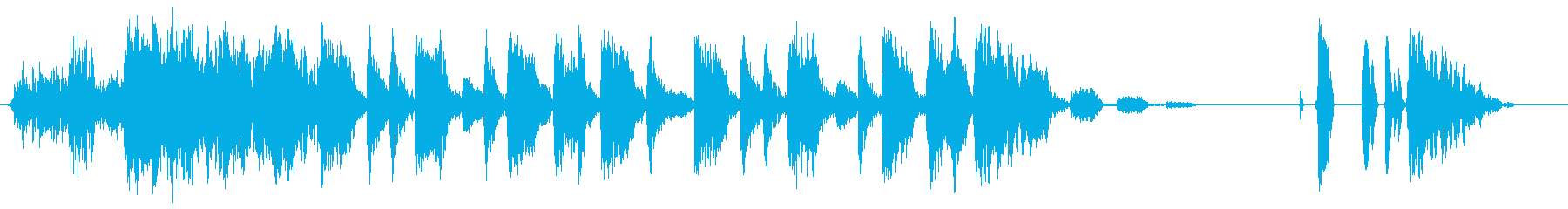 BOP BEDの再生済みの波形