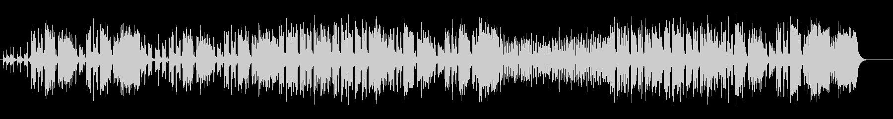 コミカルタッチのエンタテイメントサウンドの未再生の波形