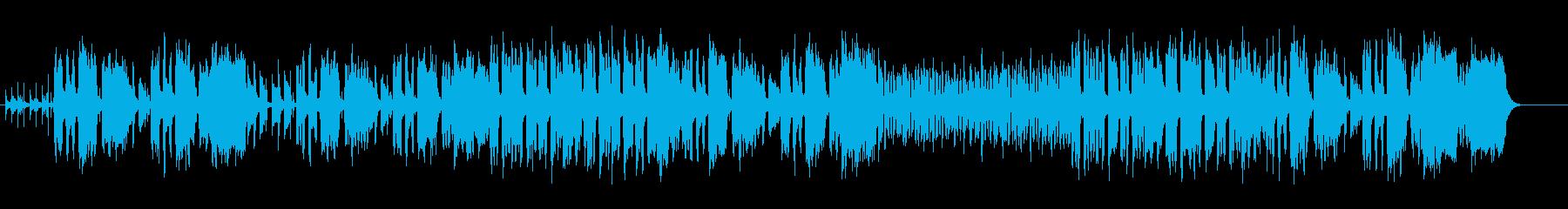 コミカルタッチのエンタテイメントサウンドの再生済みの波形