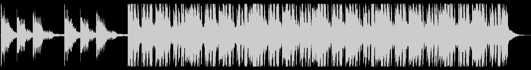 浮遊感/孤独/R&B_No437_2の未再生の波形