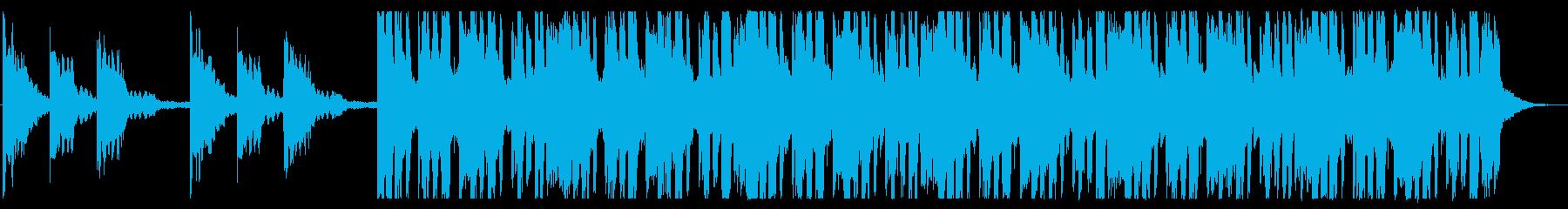 浮遊感/孤独/R&B_No437_2の再生済みの波形