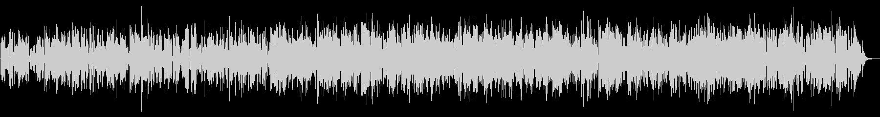 軽快なジャズファンク、サックスの未再生の波形