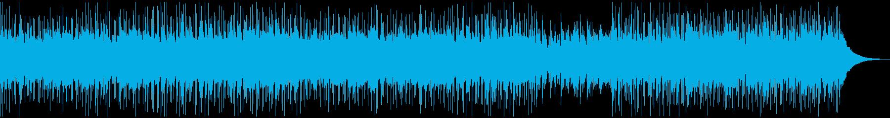 カントリーロック ギター生録音の再生済みの波形