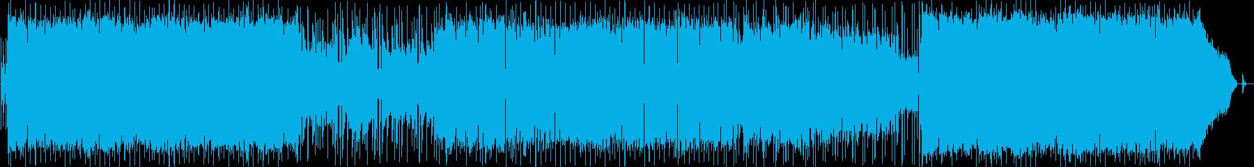 1:43からのラップ風語りと前後の落差の再生済みの波形