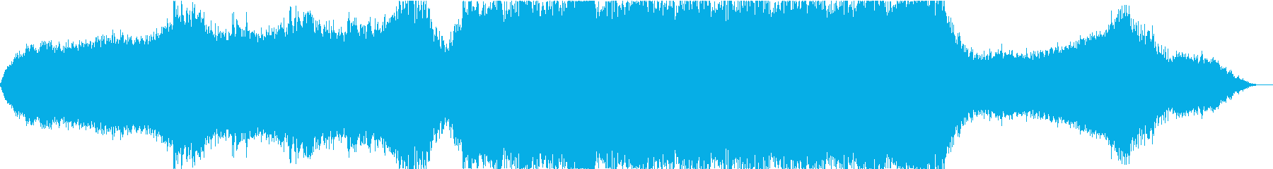 ハイブリッドエピックシネマティックの再生済みの波形