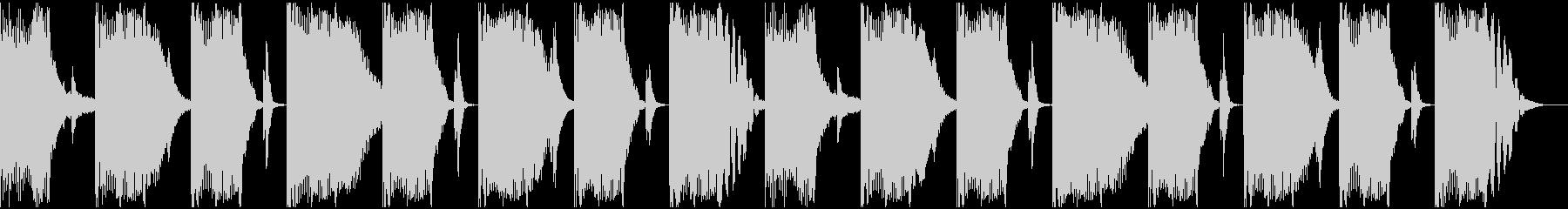 【エレクトロニカ】ロング2、ショート6の未再生の波形