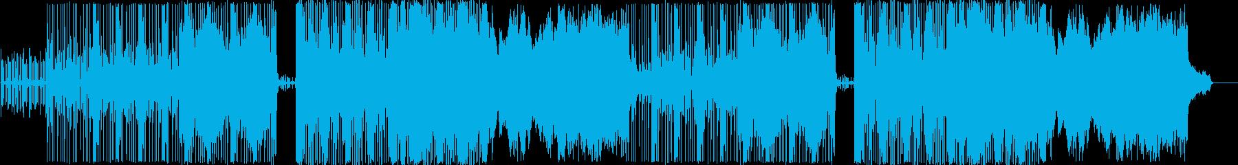 近代遺跡・機械ダンジョン等のBGMの再生済みの波形