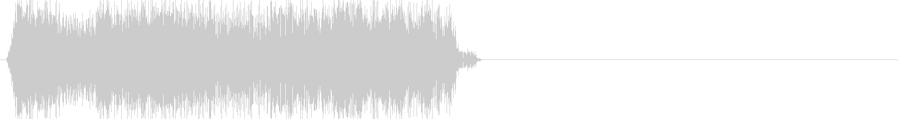 ピヨーンとなる効果音、ゲームのボタン音の未再生の波形