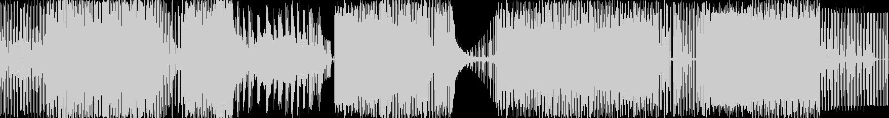 リズミカルで直線的な伝統的なメロデ...の未再生の波形