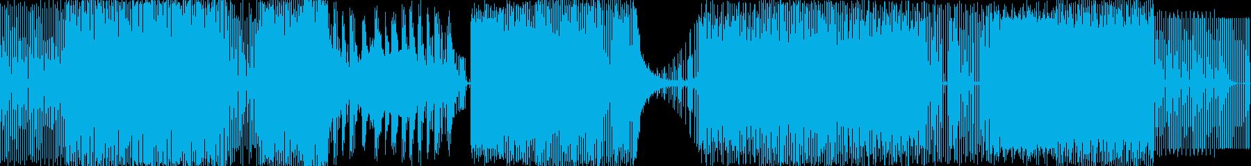 リズミカルで直線的な伝統的なメロデ...の再生済みの波形