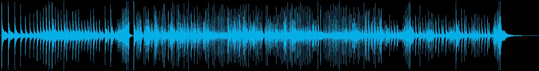 津軽三味線ソロ-I、激しい、疾走、声なしの再生済みの波形