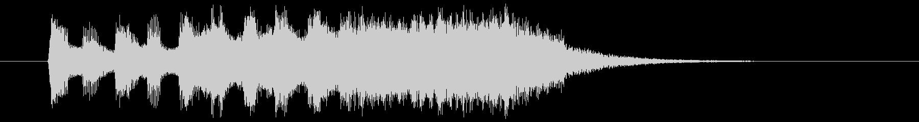 10秒の壮大なアジアンクラシックの未再生の波形