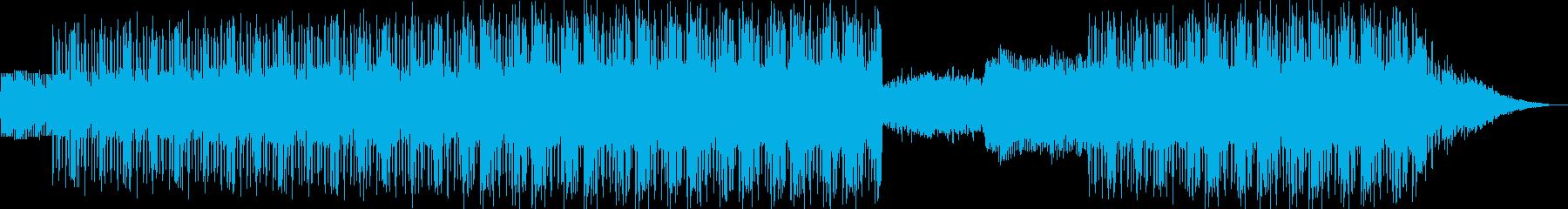 夜のドライブ向けシンセウェーブの再生済みの波形