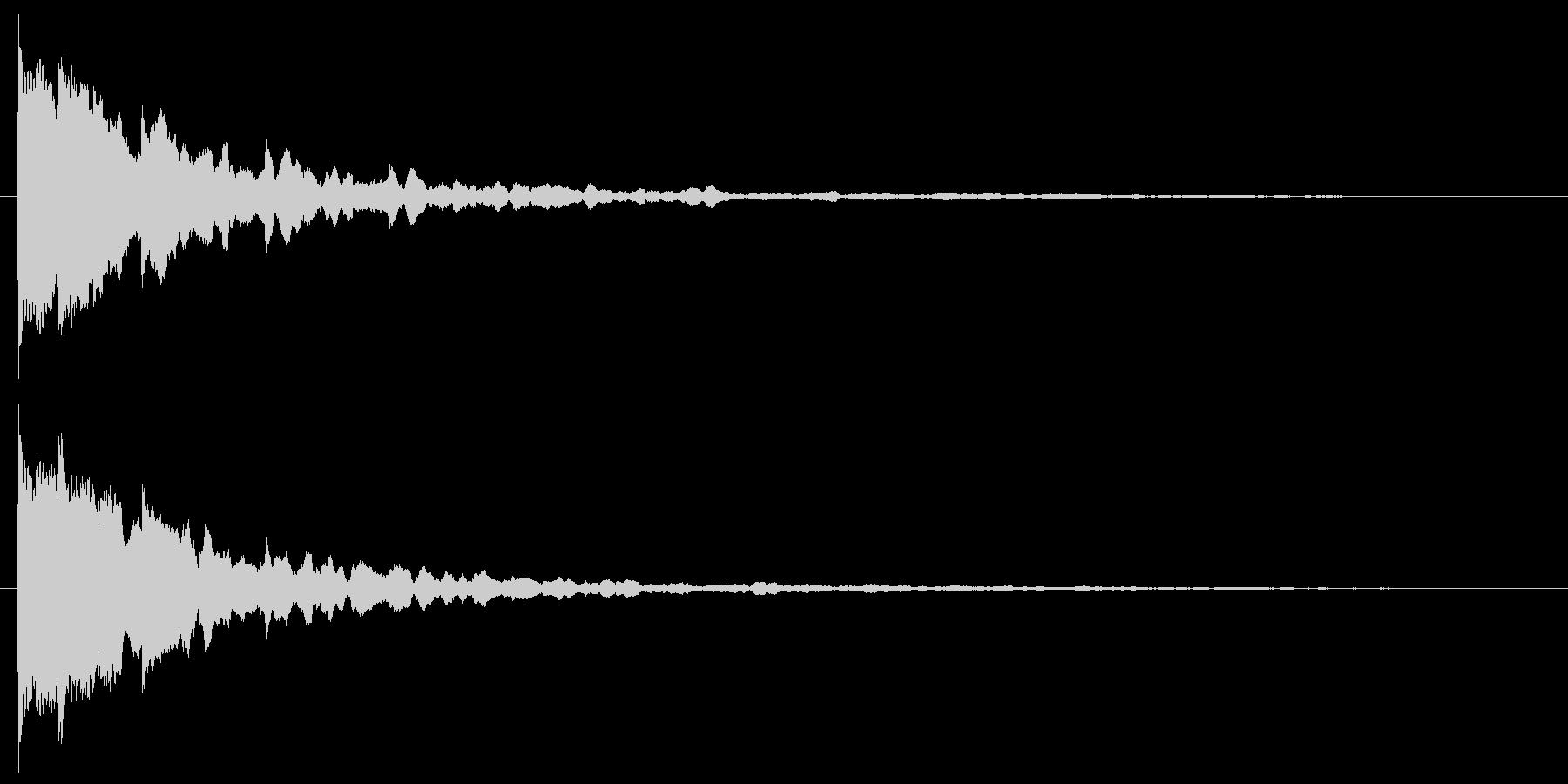 ピカーン 使い易いSEシリーズの未再生の波形