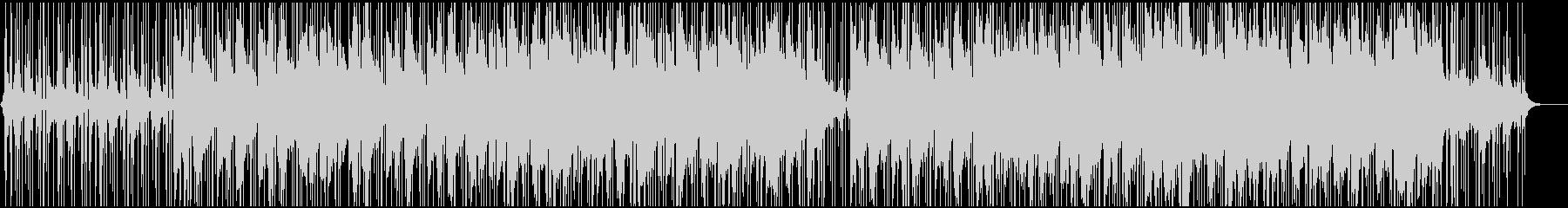 ピアノの旋律が印象的なチルヒップホップの未再生の波形