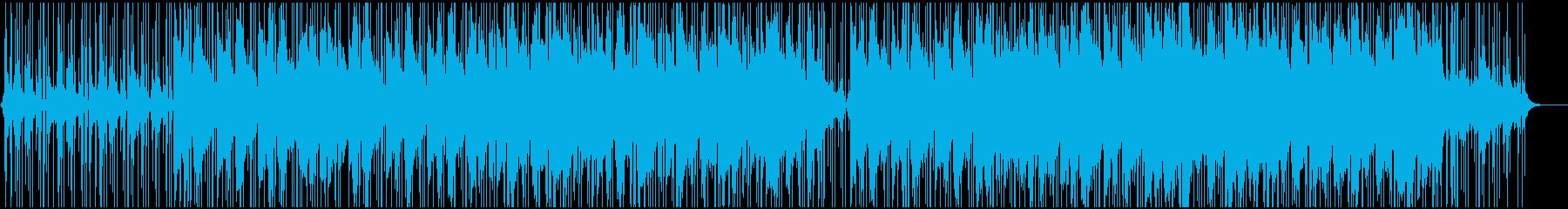 ピアノの旋律が印象的なチルヒップホップの再生済みの波形