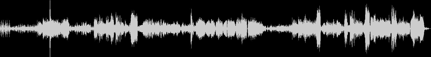 バルトークの曲のクラシックアレンジの未再生の波形