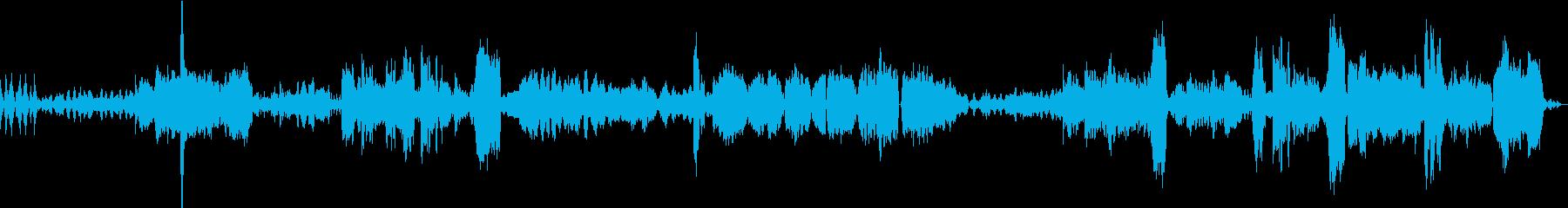 バルトークの曲のクラシックアレンジの再生済みの波形
