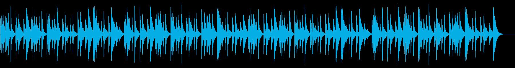 アメイジング・グレイス 18弁オルゴールの再生済みの波形