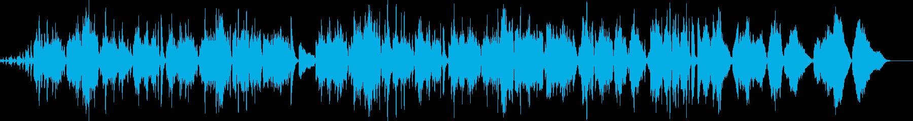 生アコーディオンで奏でるおしゃれなワルツの再生済みの波形