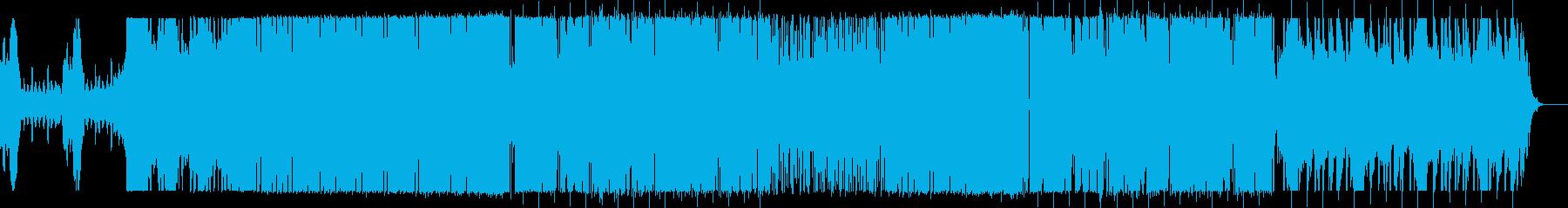 可愛い 爽やか Futuer Bassの再生済みの波形