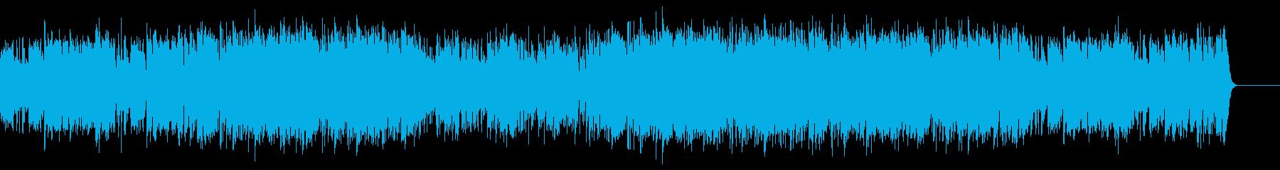 Youtube・大人な夏の海・ジャズ の再生済みの波形