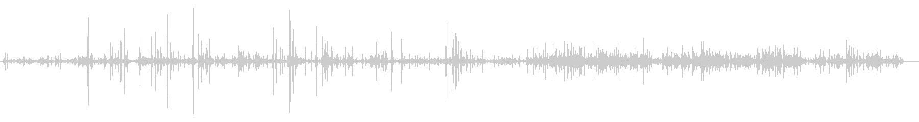 犬-シベリアンハスキー-ハウリチーム1の未再生の波形